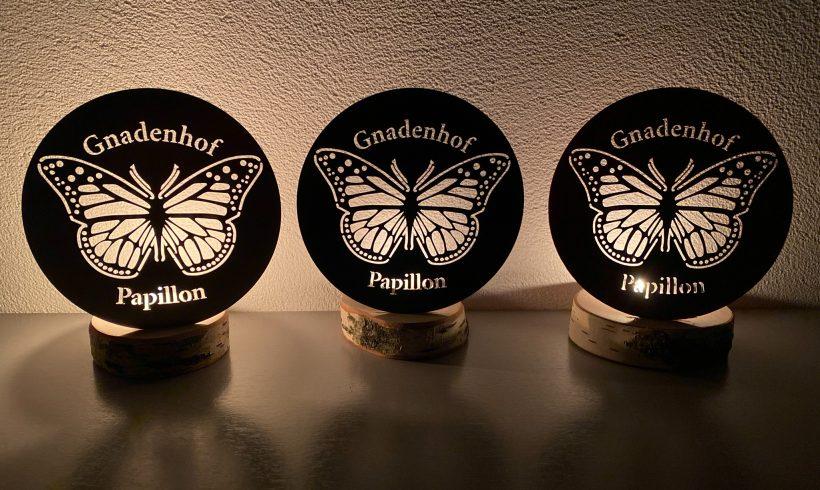Teelicht für den Gnadenhof Papillon